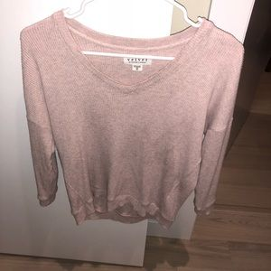 Super cute velvet top by graham and spencer
